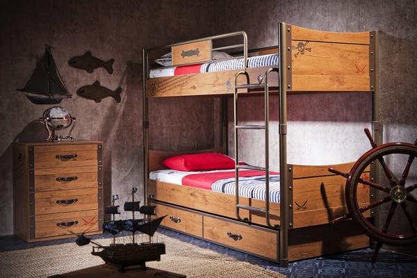 Cilek dormitorios infantiles tem ticos habitaci n pirata decopeques - Dormitorios infantiles tematicos ...