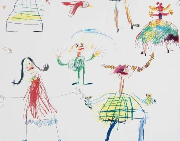 habitacion-niños-vintage-papel-pintado