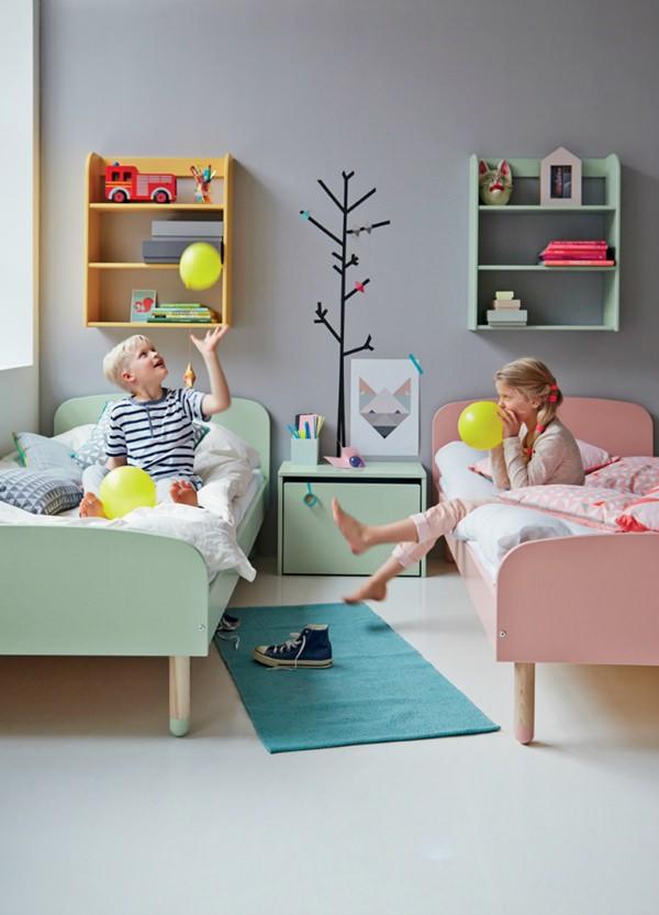 camas flexa niños Flexa Play, diseño escandinavo contemporáneo para niños