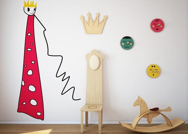 mural-infantil-rey