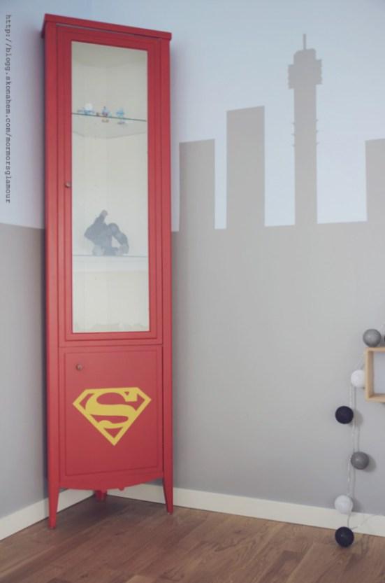 Superman01 Una habitación de Superman para tu peque