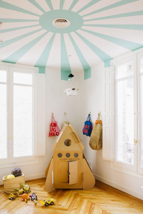 habitació infantil cohete
