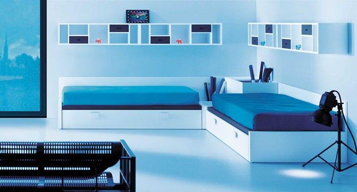lagrama habitacion juvenil dos camas Muebles Juveniles e Infantiles de Lagrama
