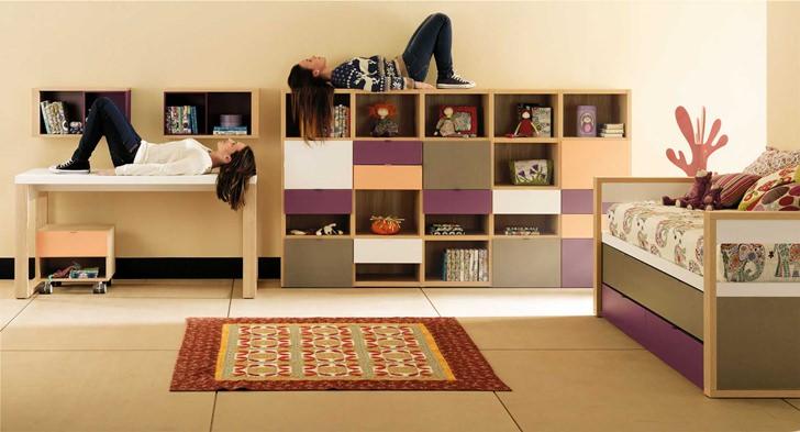 Muebles juveniles e infantiles de lagrama decopeques - Muebles habitacion juvenil ikea ...