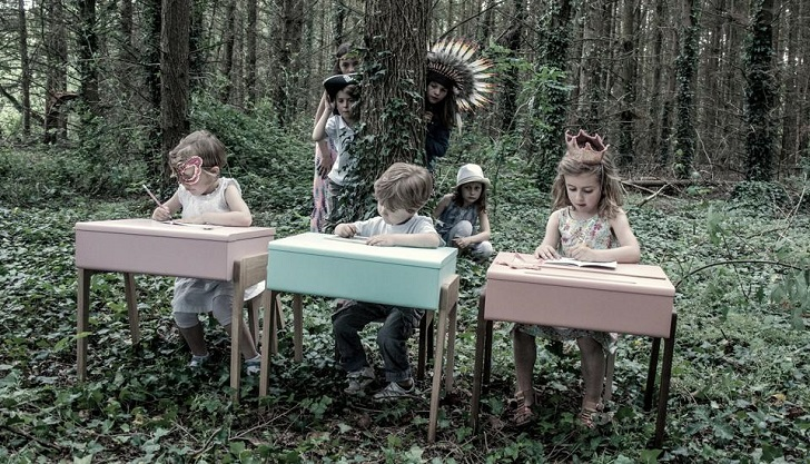muebles infantiles de diseño 5 Estudiar con mucho estilo con los muebles de Jungle by Jungle