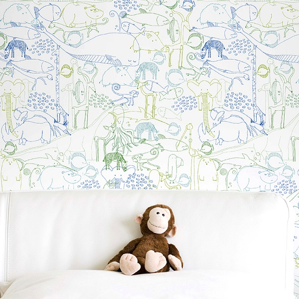 Novedades de Chispum: wallpapers reposicionables