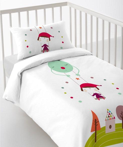 textil de cuna
