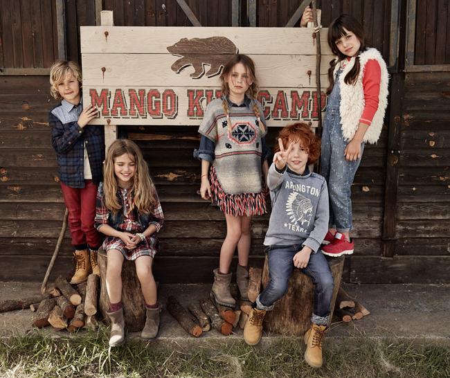 La divertida colección de Mango Kids para este otoño-invierno 14/15