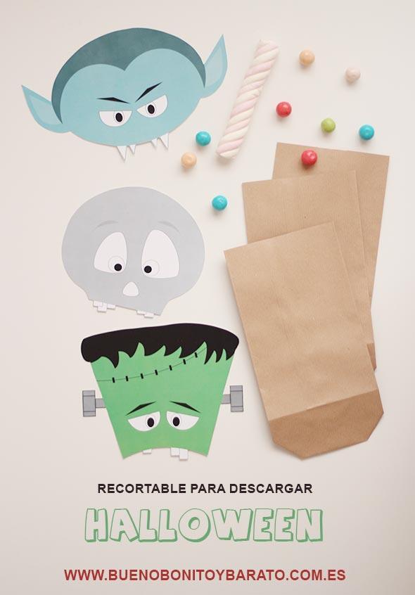 bolsas caramelos halloween 18 ideas geniales para Halloween con Niños
