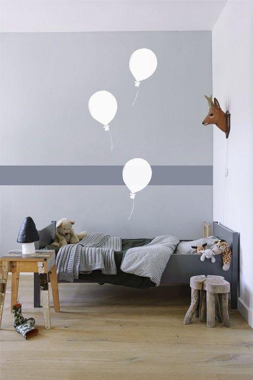 dormitorio-niños-en -gris