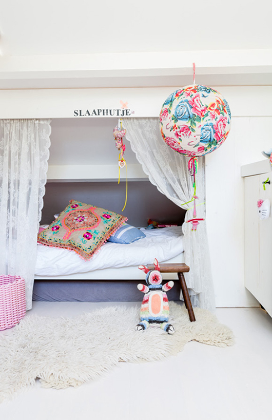 habitacion romantica1 5 habitaciones blancas con pinceladas de color
