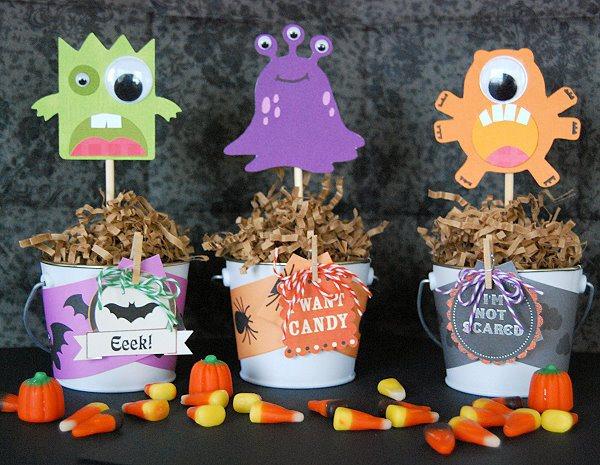 imprimibles monstruos halloween 18 ideas geniales para Halloween con Niños