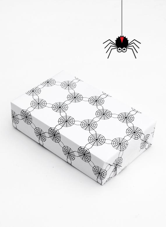 papel decorado halloween arañas Papeles decorados para Halloween