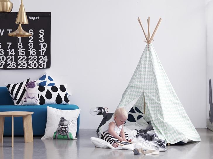 tipi-decoracion-bebe-moderna