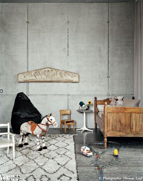 alfombra marroqui cuarto niños Tendencias en decoración infantil: Alfombras chic vintage inspiración marroquí