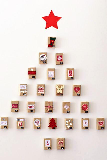 arbol navidad diy 10 ideas para hacer con una caja de cerillas