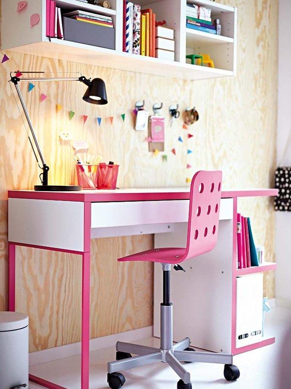 Kinderbett Mit Gästebett Ikea ~ Escritorios infantiles con la mesa Micke de Ikea  DecoPeques