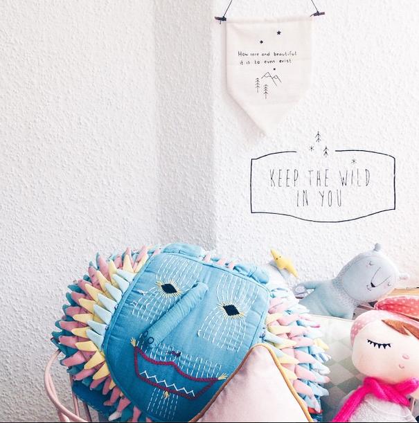 habitacion nordica niños ❤ Inspiración ❤ Instagram… @nynneetliloujos