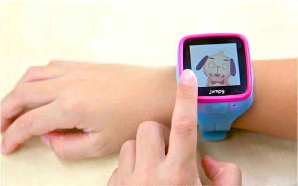 JUMPY, el reloj inteligente para niños de 5 a 8 años