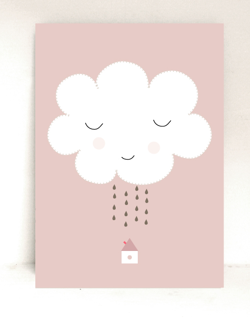 lamina infantil nube Láminas para niños con mensajes positivos