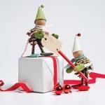 7 Manualidades Navideñas con Piñas y fieltro