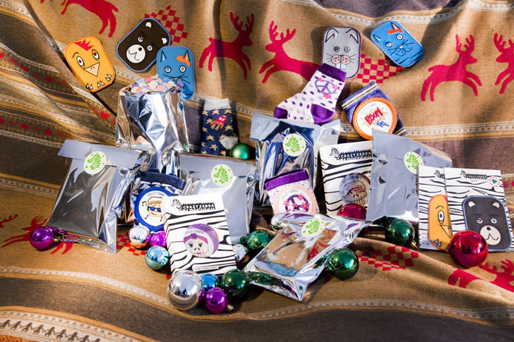 moda infantil rodilleras kit navidad Rodilleras de Crazy Zebra para tus pequeños terremotos