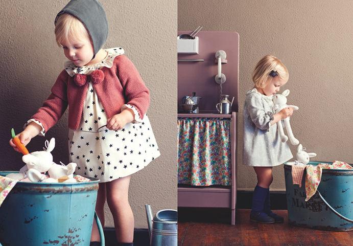nanos bebes niños Nanos otoño   invierno 2014, de princesas y caballeros