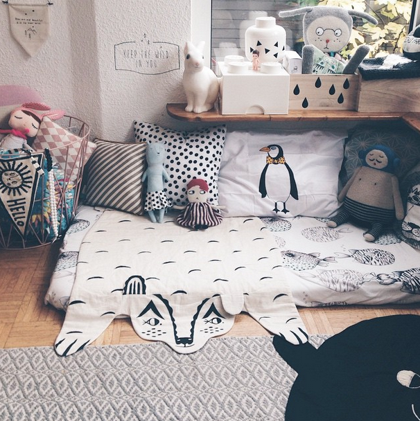 rincon habitacion infantil1 ❤ Inspiración ❤ Instagram… @nynneetliloujos