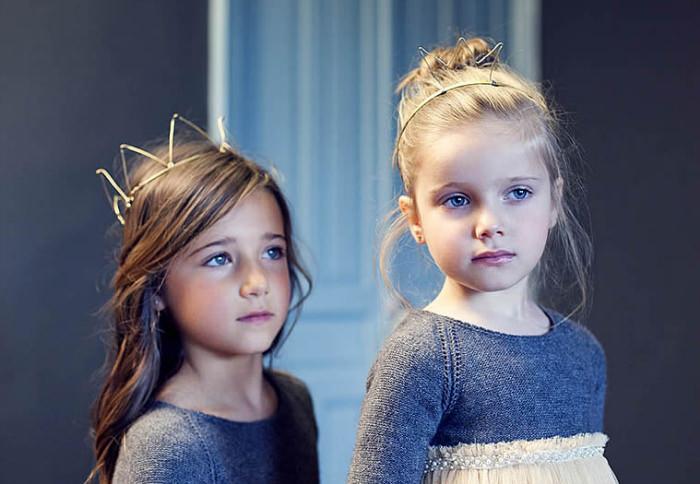 vestidos fiesta nanos Nanos otoño   invierno 2014, de princesas y caballeros
