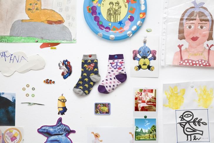 Socks CRAZY ZEBRA Wall peque Rodilleras de Crazy Zebra para tus pequeños terremotos