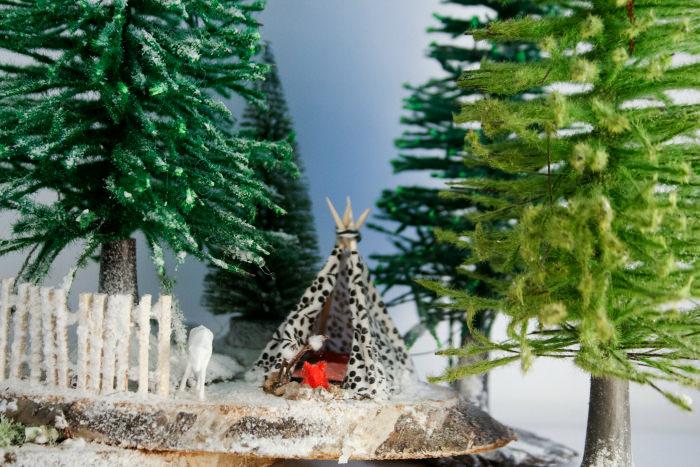 adornos decoracion navidad Los micromundos de Rebeca Terrón