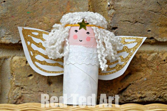 Christmas Tree Angel Hair