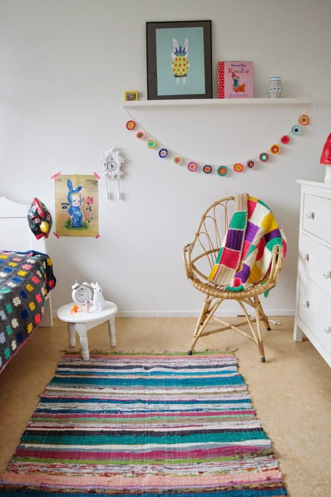 Puerta al sur decora la habitaci n de los ni os con crochet for Decoracion del hogar con crochet