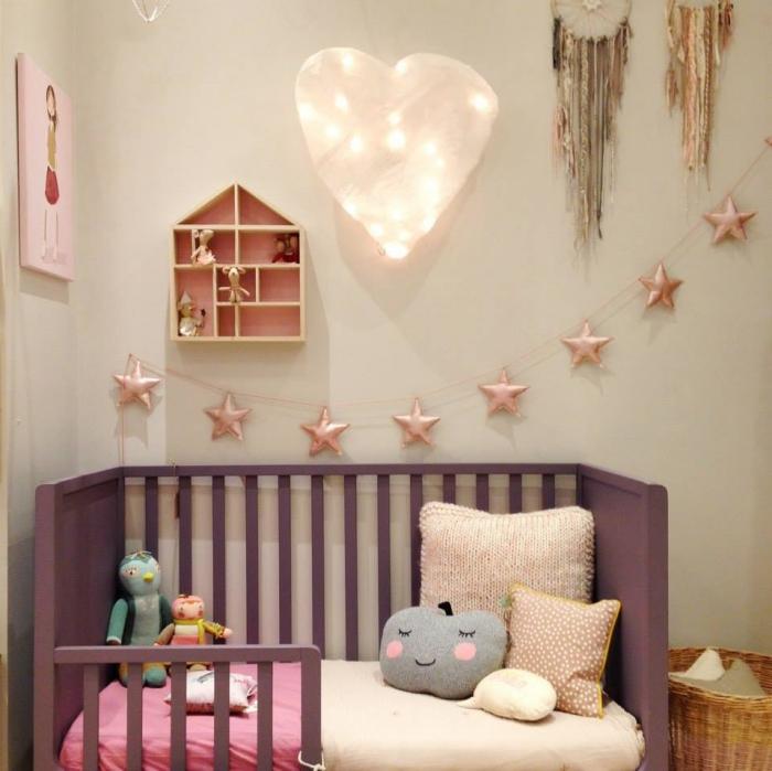 14 habitaciones infantiles en rosa for Decoracion habitacion infantil pequena