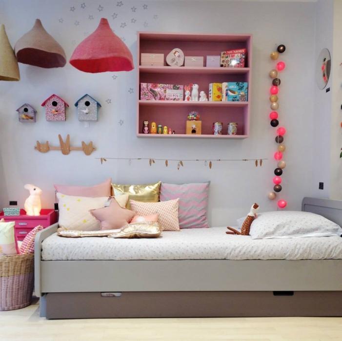 14 habitaciones infantiles en rosa Habitaciones juveniles rosa