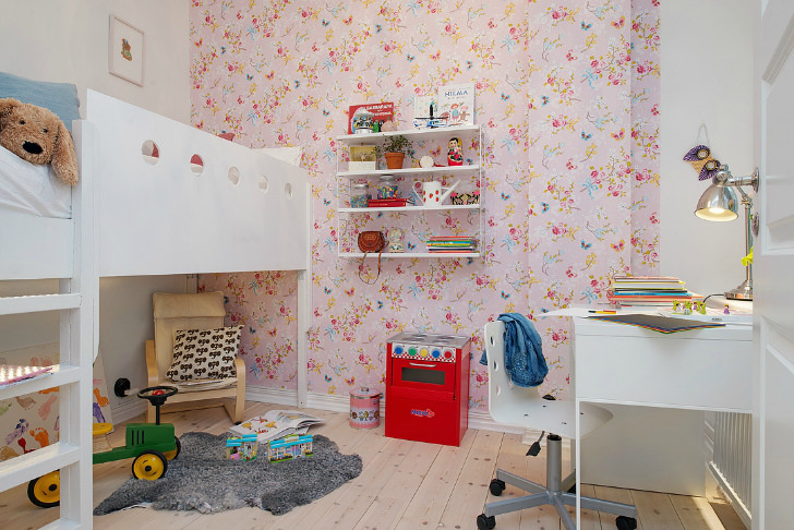 7 habitaciones infantiles con encanto decopeques - Habitacion rosa palo ...