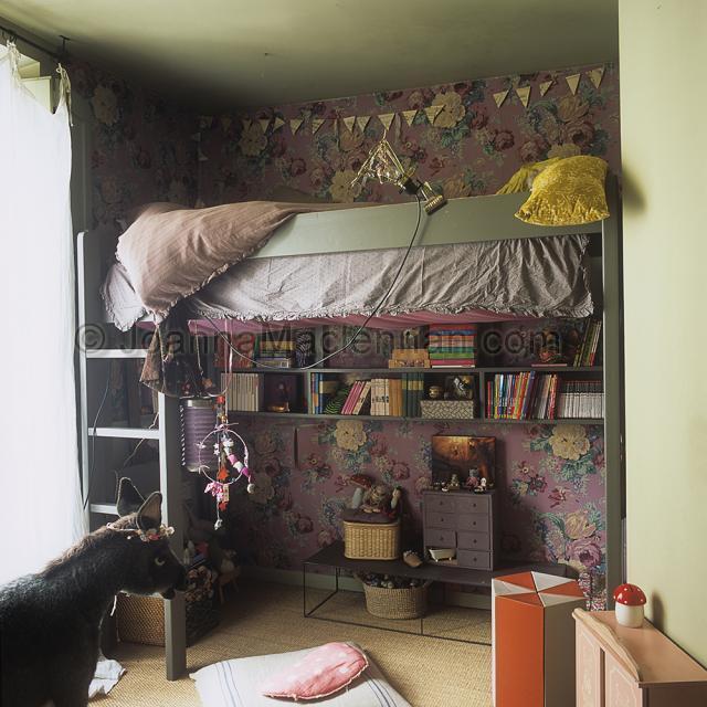 Dormitorios infantiles eclu00e9cticos en Paru00eds - DecoPeques