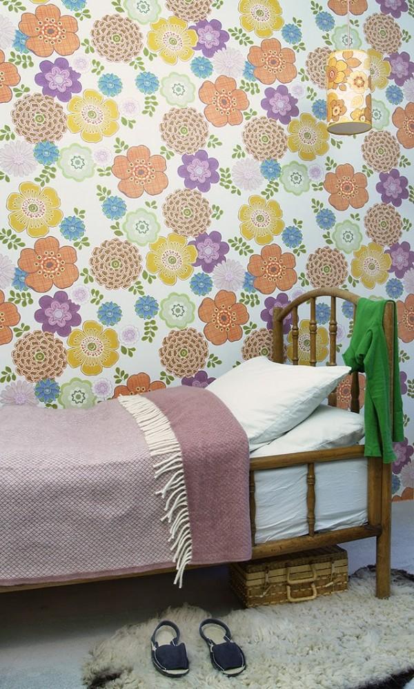 Papel pintados vintage para ni os de inke - Papel infantil para pared ...