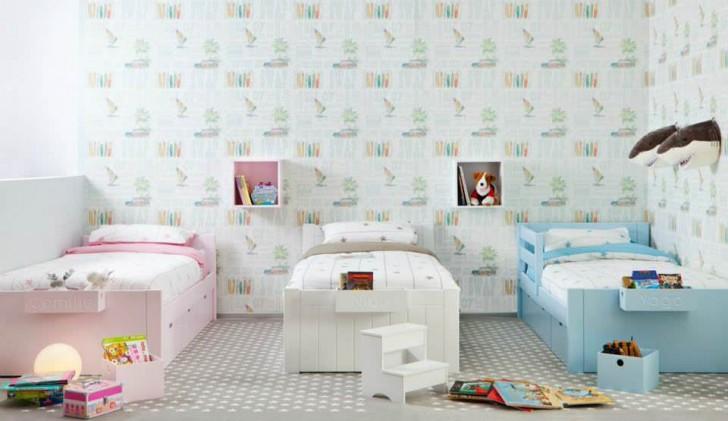 Muebles infantiles y juveniles originales camas para - Camas individuales infantiles ...