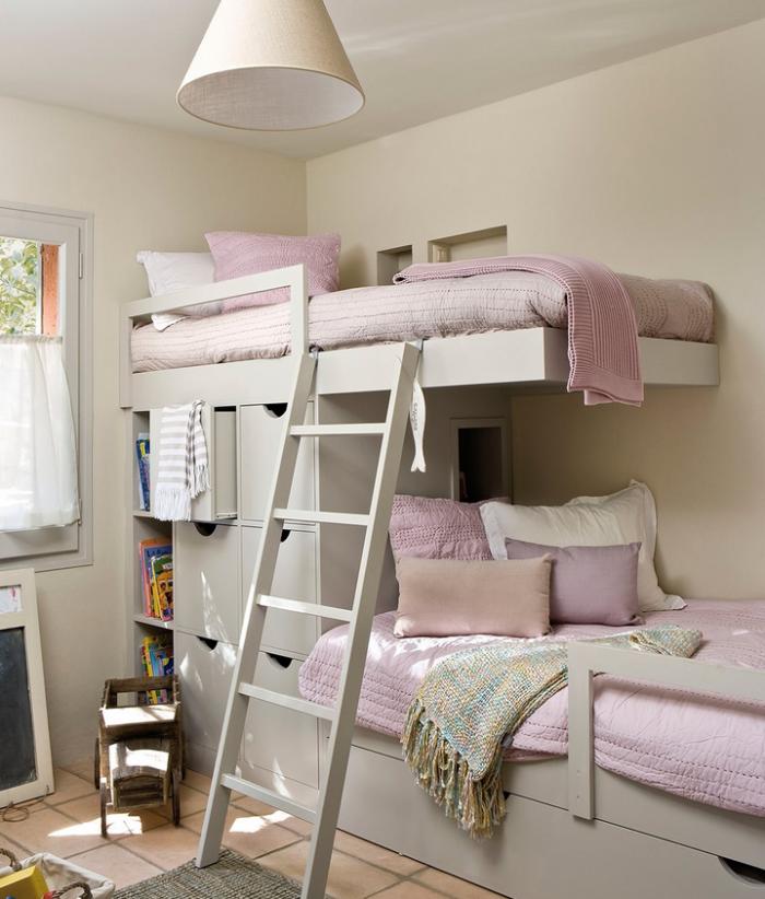 Dormitorios compartidos como orientar las camas de los - Habitacion con literas para ninos ...