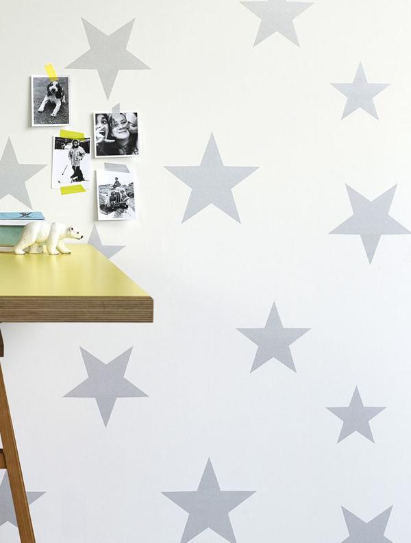 Papel pintado para niu00f1os con estrella