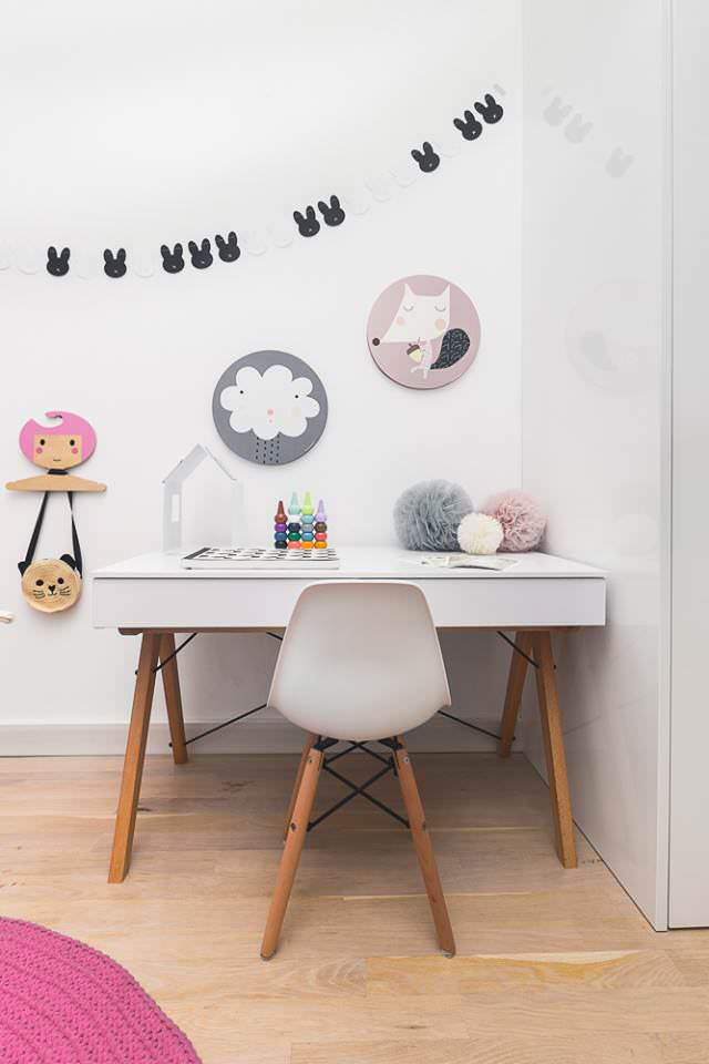 ideas para decorar una habitaci n infantil con look n rdico. Black Bedroom Furniture Sets. Home Design Ideas