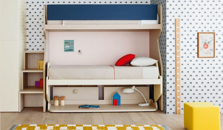 Habitaciones juveniles y muebles modulares infantiles for Muebles de cuartos infantiles