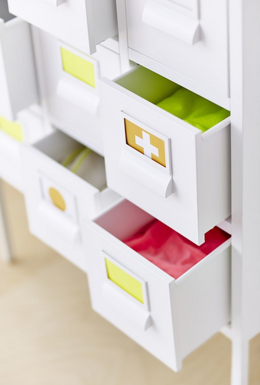 7 ideas para decorar los dormitorios infantiles con mucho - Ikea ninos almacenaje ...