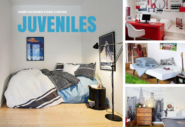 10 fotos de habitaciones juveniles para chicos decopeques - Imagenes dormitorios juveniles ...