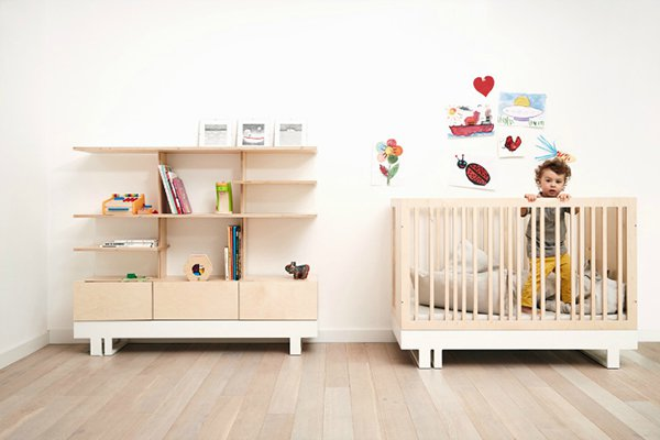 Muebles infantiles con dise o simple decopeques for Pegatinas infantiles para muebles