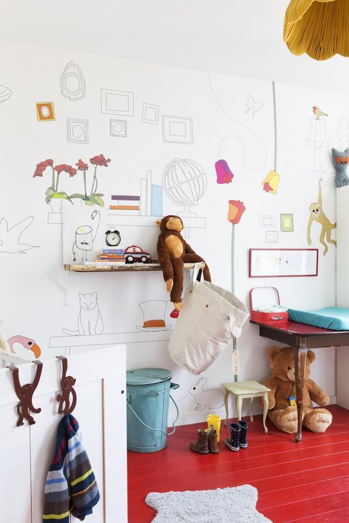 habitacion-infantil-suelo-rojo