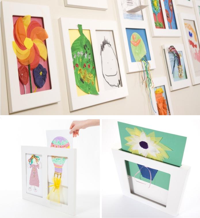 Marcos para los dibujos del cole una galer a de arte en for Enmarcar fotos online