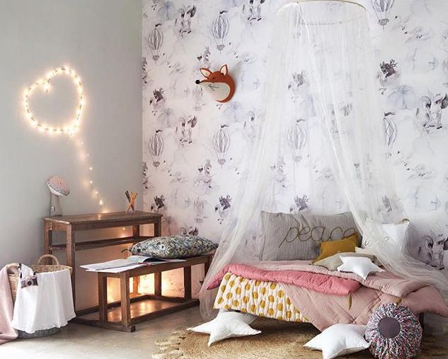 Dormitorios románticos para niñas - DecoPeques