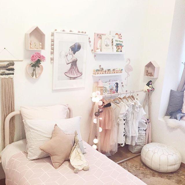 Dormitorios rom nticos para ni as decopeques for Cuarto de nina rosa palido